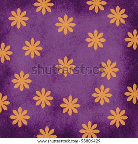 Purple and Orange Background - stock photo