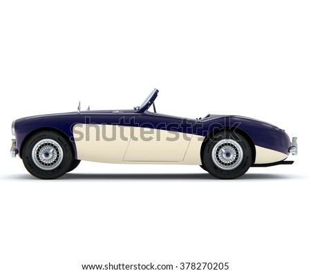 Classic Car Isolated Stock Images Royalty Free Images Vectors