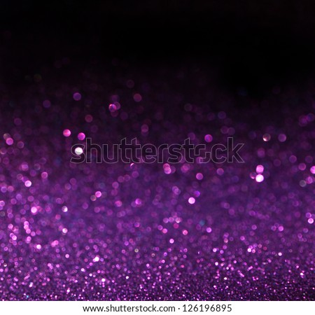 Purple background. Elegant abstract background with bokeh defocused lights - stock photo