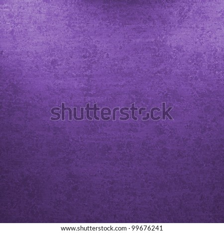 purple background with faded vintage grunge sponge texture with soft corner design highlights for ad or brochure paper backdrop - stock photo