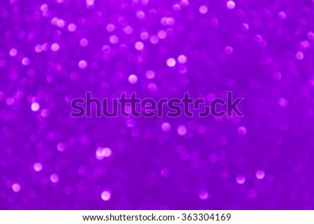 Purple Blue Festive Christmas elegant abstract background with bokeh lights and stars - stock photo