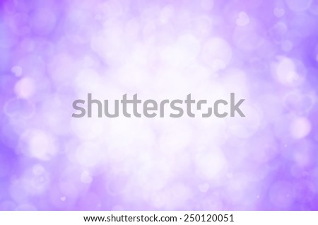 purple bokeh abstract background.  - stock photo