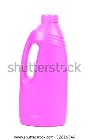 Purple Cleaner - stock photo