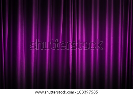 Curtain Purple Theater Stock Images Royalty Free Images