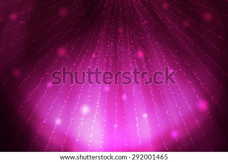 purple curve abstract background with lights - stock photo
