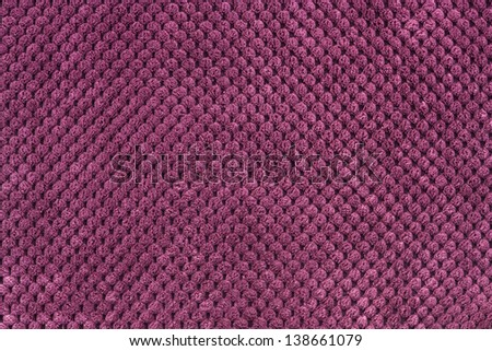 purple fabric texture - stock photo