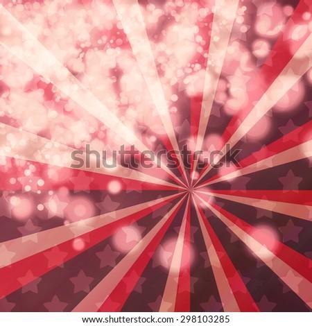 Purple Festive Christmas background - stock photo