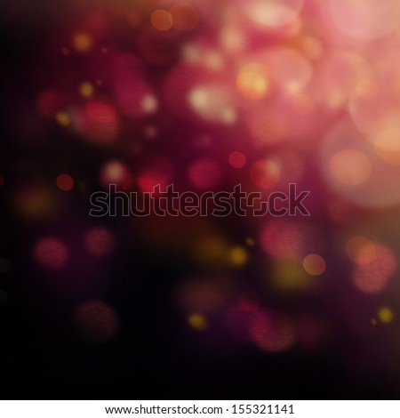Purple Festive Christmas background. Elegant abstract background with bokeh defocused lights and stars - stock photo