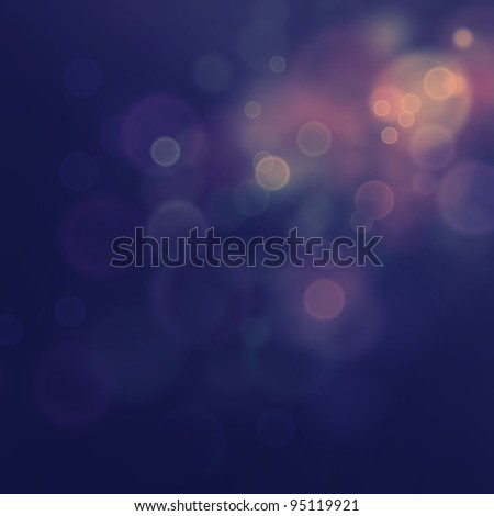 Purple Festive Christmas  elegant  abstract background with  bokeh lights and stars - stock photo