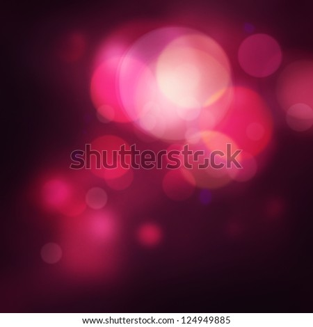 Purple Festive Valentines elegant abstract background with bokeh lights and stars - stock photo