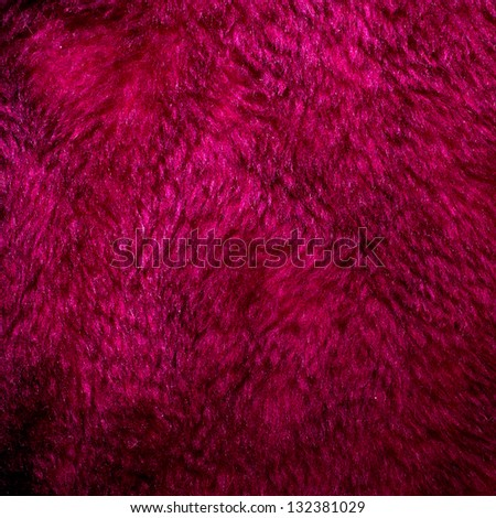 Purple fur texture for background usage - stock photo