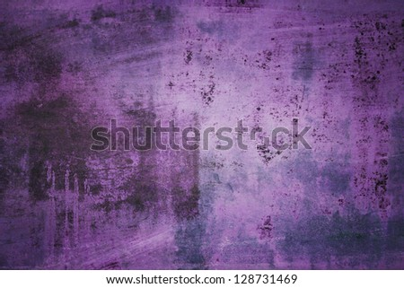Purple Grunge Background - stock photo