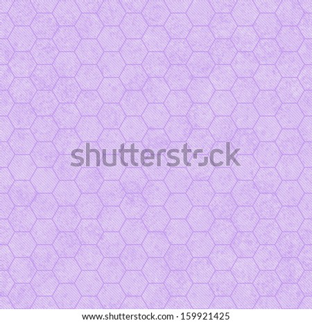 Purple Honey Comb Fabric Background that is seamless and repeats - stock photo