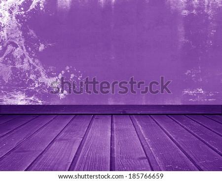 purple interior - stock photo