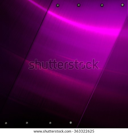 purple metal plate background - stock photo