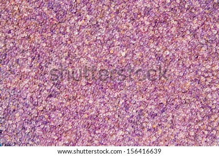 Purple moistness silica gel close up background . - stock photo