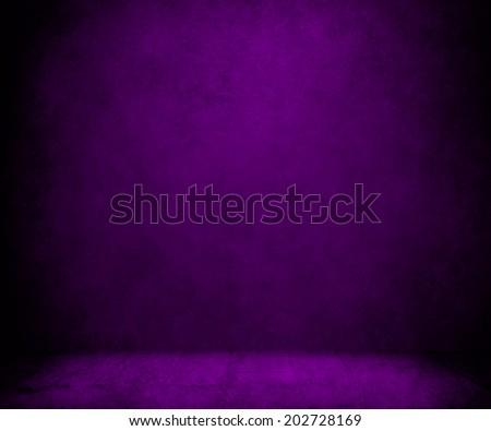 purple paint background - stock photo