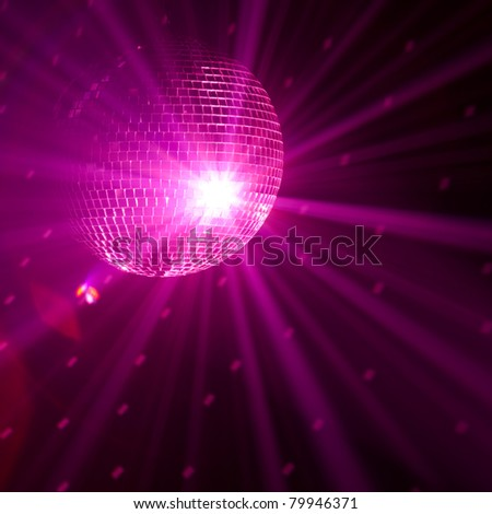 purple party background - stock photo