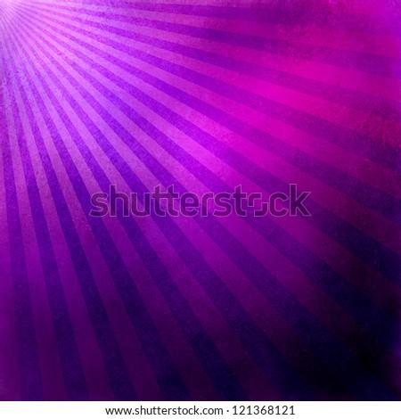 purple pink background retro striped layout, sunburst abstract background texture pattern, vintage grunge background sunrise design, old black border, bright colorful fun paper, pink purple blue color - stock photo
