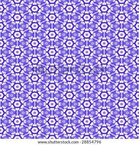 purple seamless 70s wallpaper - stock photo