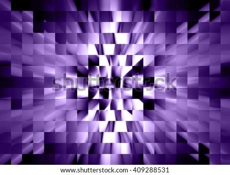 Purple Squares - stock photo