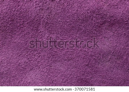 Purple suede texture, background - stock photo