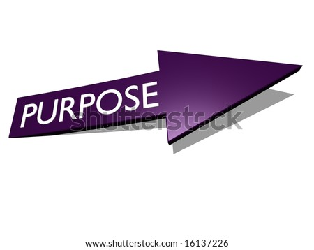 purpose arrow