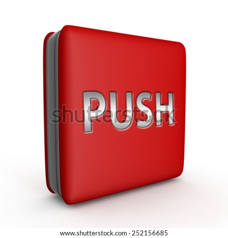 push square icon on white background