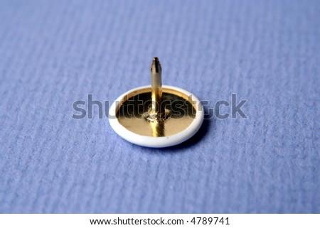 pushpin upside down - stock photo