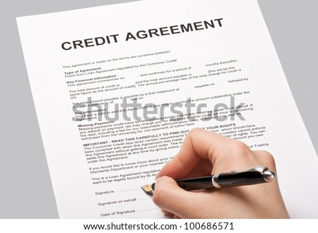 Credit Card Signature Stock Images RoyaltyFree Images  Vectors