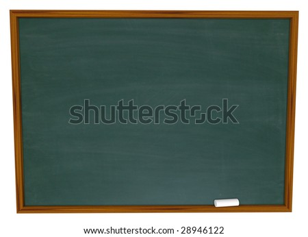 Put Your Own Text on this Empty Chalkboard