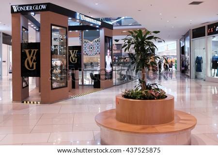 Putrajaya, Malaysia - 10 Jun 2016 : Luxury brand outlet in Putrajaya I0I Mall. It is a brand new lifestyle and entertainment regional mall for all located in Putrajaya.