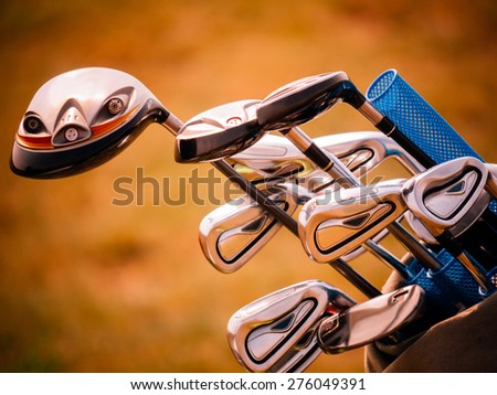 Putters - stock photo
