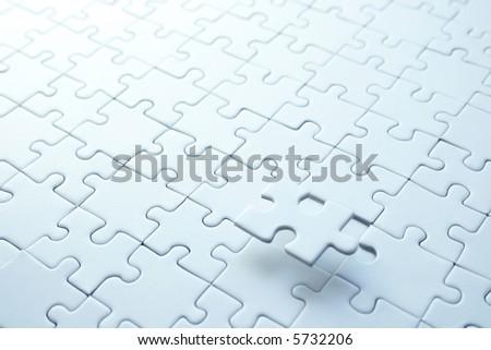 Puzzle 1 - stock photo