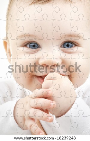 Puzzle Face Stock Photos, Images, & Pictures | Shutterstock