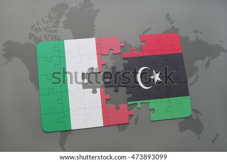 Puzzle national flag turkey libya on stock illustration 564132019 puzzle with the national flag of italy and libya on a world map background 3d sciox Images