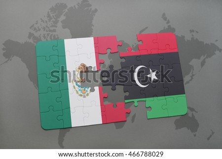 Puzzle national flag italy laos on stock illustration 452468554 puzzle with the national flag of mexico and libya on a world map background 3d sciox Choice Image