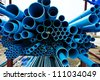 PVC pipes - stock photo
