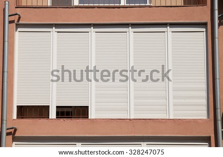 PVC windows and shutters