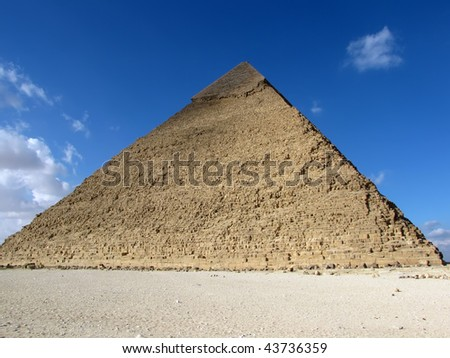 Pyramid of Khafre (Chephren), Egypt
