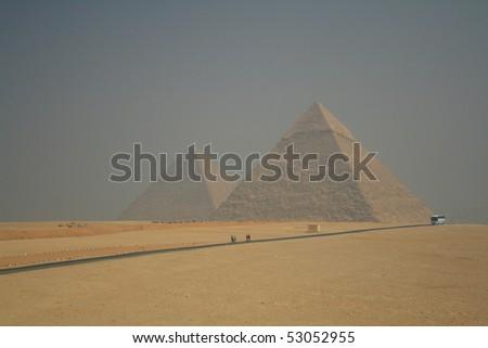 Pyramids - stock photo