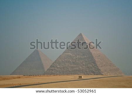 Pyramids 2 - stock photo