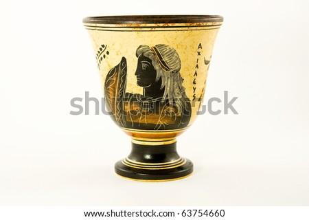 Pythagoras Cup - stock photo