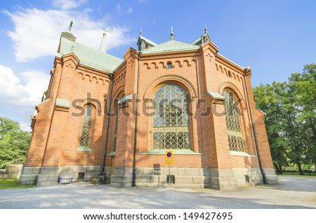 Pyynikki church in Tampere, Finland.