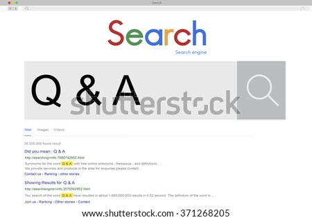 Q&A Frequently Asked Question Answer Information Concept - stock photo