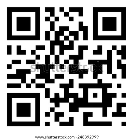 """Qr code """"Have a nice day"""" - stock photo"""
