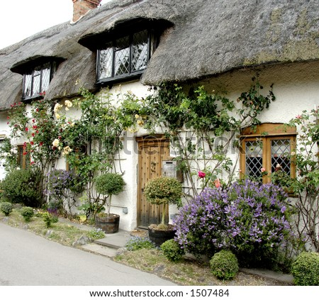 Thatched Cottage Stock Images, Royalty-Free Images ... Quaint English Cottages