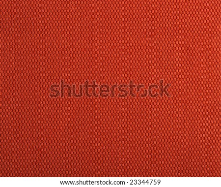 Qualitative red fabric texture. Abstract background. Close up. - stock photo