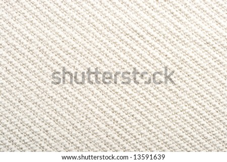 Qualitative white fabric texture. Abstract background. Close up. - stock photo