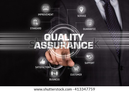 QUALITY ASSURANCE TECHNOLOGY COMMUNICATION TOUCHSCREEN FUTURISTIC CONCEPT